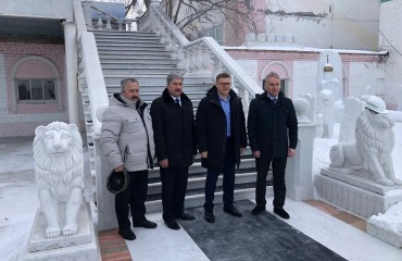 Визит губернатора Челябинской области